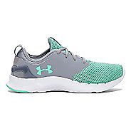 Womens Under Armour Flow RN Solid Running Shoe - Steel/Antifreeze 8.5