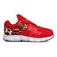 Kids Under Armour Thrill RN AC Running Shoe - Red/White/White 9C