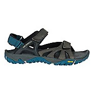 Mens Merrell All Out Blaze Sieve Convertible Hiking Shoe - Grey 8