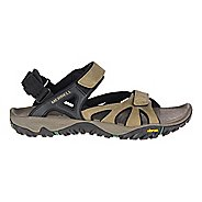 Mens Merrell All Out Blaze Sieve Convertible Hiking Shoe - Stucco 9