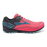 Womens Brooks Mazama Trail Running Shoe - Pink/Anthracite 11