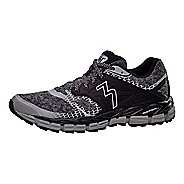 Mens 361 Degrees Santiago Trail Running Shoe - Sleet/Black 7.5