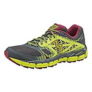 Womens 361 Degrees Santiago Trail Running Shoe - Castlerock/Limeaide 12