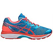 Womens ASICS GEL-Cumulus 18 Running Shoe - Aqua/Coral 5