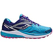 Womens Saucony Ride 9 Running Shoe - Navy/Blue 6.5