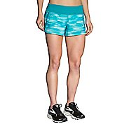 "Womens Brooks Chaser 3"" Printed Lined Shorts"