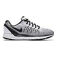 Mens Nike Air Zoom Odyssey 2 Running Shoe - White/Black 9.5