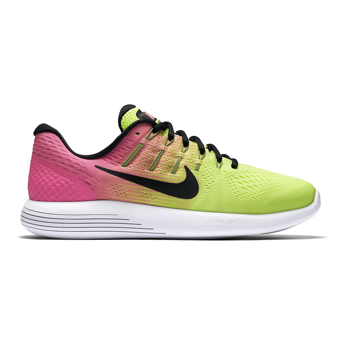 meet 8d4f7 5cb66 Mens Nike LunarGlide 8 Summer Games Running Shoe at Road Runner Sports