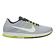 Nike Air Zoom Streak 6 Racing Shoe - Grey/Volt 5.5