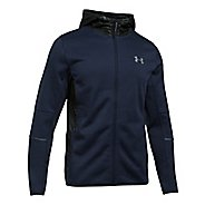 Mens Under Armour Swacket Fullzip Hoodie Casual Jackets - Midnight Navy L