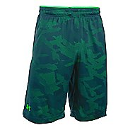 Mens Under Armour Raid Jacquard Unlined Shorts - Nova Teal/Green L
