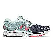 Womens New Balance 1260v6 Running Shoe - Mint/Pink 5