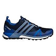 Mens adidas Terrex Agravic GTX Trail Running Shoe - Navy/Steel 10