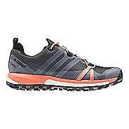 Womens adidas Terrex Agravic GTX Trail Running Shoe - Grey/White/Coral 9