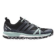 Womens adidas Terrex Agravic GTX Trail Running Shoe - Dark Grey 7.5