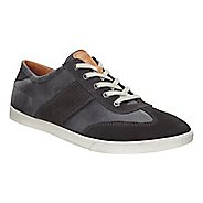 Mens Ecco Collin Retro Sneaker Casual Shoe - Moonless/Moonless 44