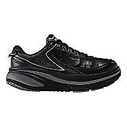 Womens Hoka One One Bondi 4 LTR Walking Shoe - Black/Black 5
