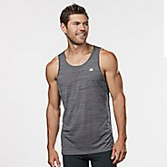 Mens R-Gear Runner's High Printed Singlet Sleeveless & Tank Technical Tops - Steel S