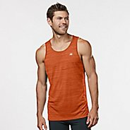 Mens R-Gear Runner's High Printed Singlet Sleeveless & Tank Technical Tops - White M