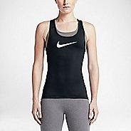 Womens Nike Pro Cool Sleeveless & Tank Technical Tops - Black M