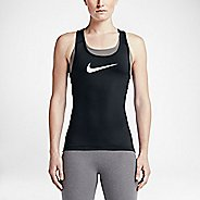 Womens Nike Pro Cool Sleeveless & Tank Technical Tops - Black XS
