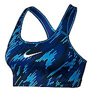 Womens Nike Pro Classic Overdrive Sports Bra - Light Photo Blue XL