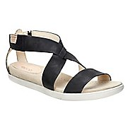 Womens Ecco Damara Strap Sandals Shoe - Black 42