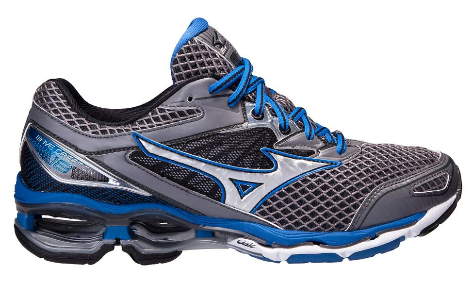 af8ec38884fe Mens Mizuno Wave Creation 18 Running Shoe at Road Runner Sports