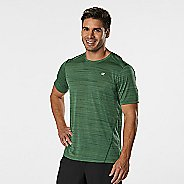 Mens R-Gear Runner's High Printed Short Sleeve Technical Tops