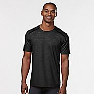 Mens Road Runner Sports Your Unbeatable Short Sleeve Technical Tops - Black L