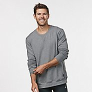 Mens R-Gear Every Day Crew Neck Long Sleeve Technical Tops - Jungle/Black XXL
