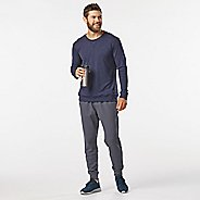 Mens R-Gear Every Day Crew Neck Long Sleeve Technical Tops - Jungle/Black L