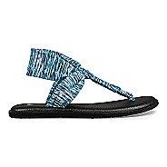 Womens Sanuk Yoga Sling Ella Prints Sandals Shoe - Navy Space Dye 10