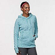 Womens R-Gear On the Move Printed Half-Zips & Hoodies Technical Tops - Oasis Jacquard XL