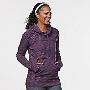 Womens R-Gear On the Move Printed Half-Zips & Hoodies Technical Tops - Ruby Jacquard XS