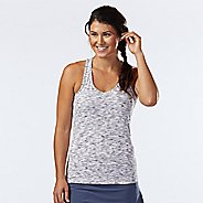 Womens R-Gear Revive Racerback Sleeveless & Tank Technical Tops - White/Charcoal S