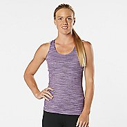 Womens R-Gear Revive Striped Racerback Sleeveless & Tank Technical Tops - Let's Jam Spacedye L
