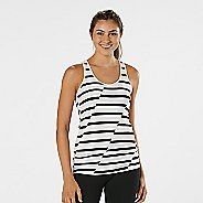 Womens R-Gear Revive Printed Racerback Sleeveless & Tank Technical Tops - Black/White M