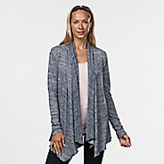 Womens R-Gear Out & About Cardi Long Sleeve Non-Technical Tops - Black/White M