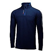 Mens Helly Hansen HP 1/2 Zip Pullover Half-Zips & Hoodies Technical Tops - Navy XXL