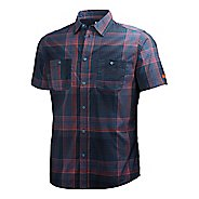 Mens Helly Hansen Jotun Nordic Shirt Short Sleeve Technical Tops - Ebony XXL