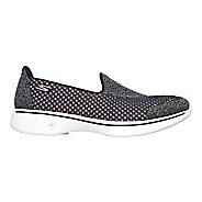 Womens Skechers GO Walk 4 Kindle Casual Shoe - Black/Hot Pink 7