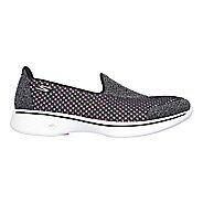 Womens Skechers GO Walk 4 Kindle Casual Shoe - Black/Hot Pink 9