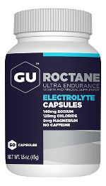GU Roctane Electrolyte Capsules 50 Count Supplement