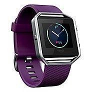 Fitbit Blaze Smart Fitness Watch Monitors - Plum L