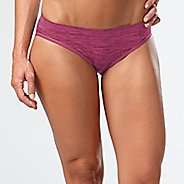 Womens R-Gear Undercover Seamless Printed Hipster Bikini Underwear Bottoms - Let's Jam/Ruby S