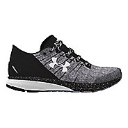 Mens Under Armour Charged Bandit 2 Running Shoe - Black/White 15