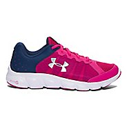 Kids Under Armour Micro G Assert 6 Running Shoe - Pink/Navy 4.5Y