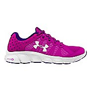 Kids Under Armour Micro G Assert 6 Running Shoe - Pink/White 5Y
