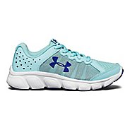 Kids Under Armour Assert 6 Running Shoe - Blue/White 12C